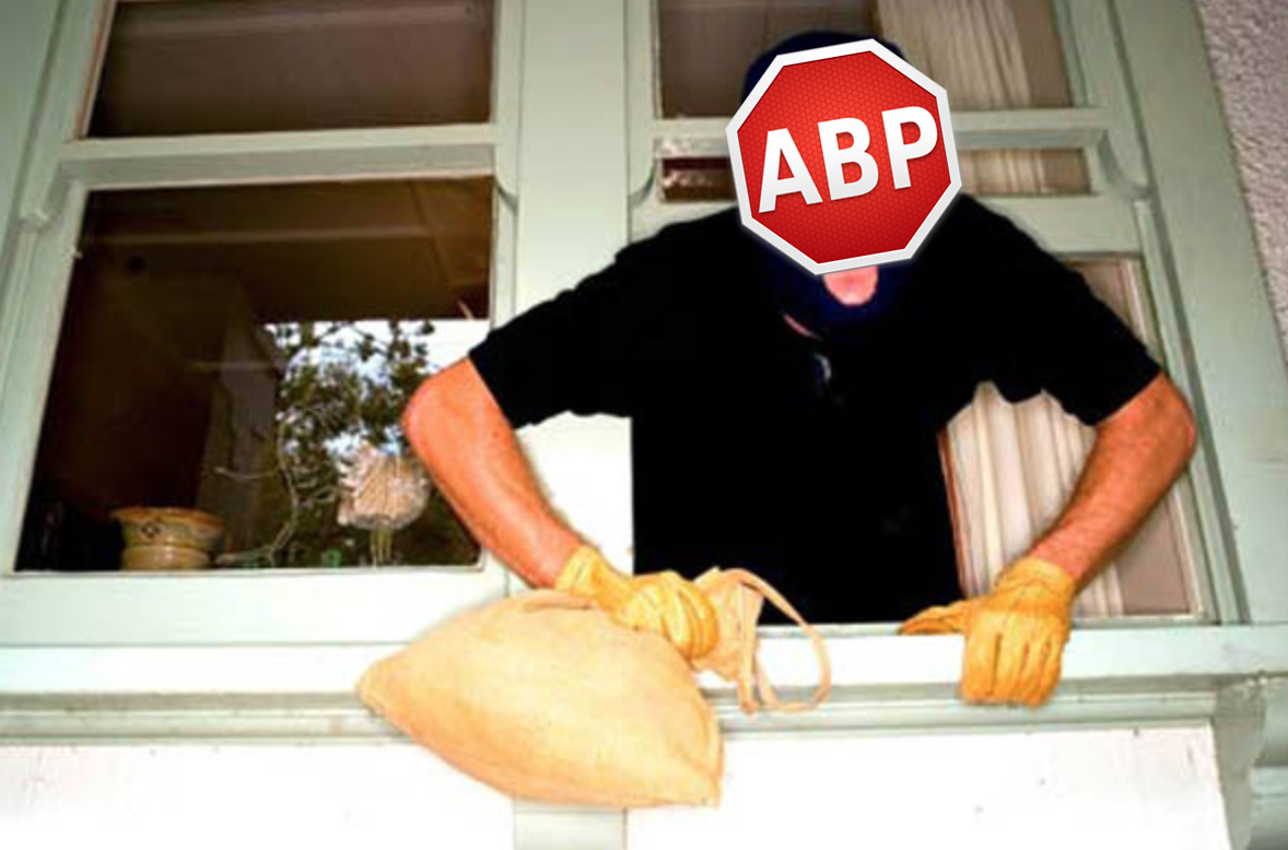 AdBlock Plus Steals Money and still serves you Ads