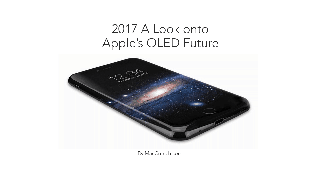 Apple's OLED Plans for 2017