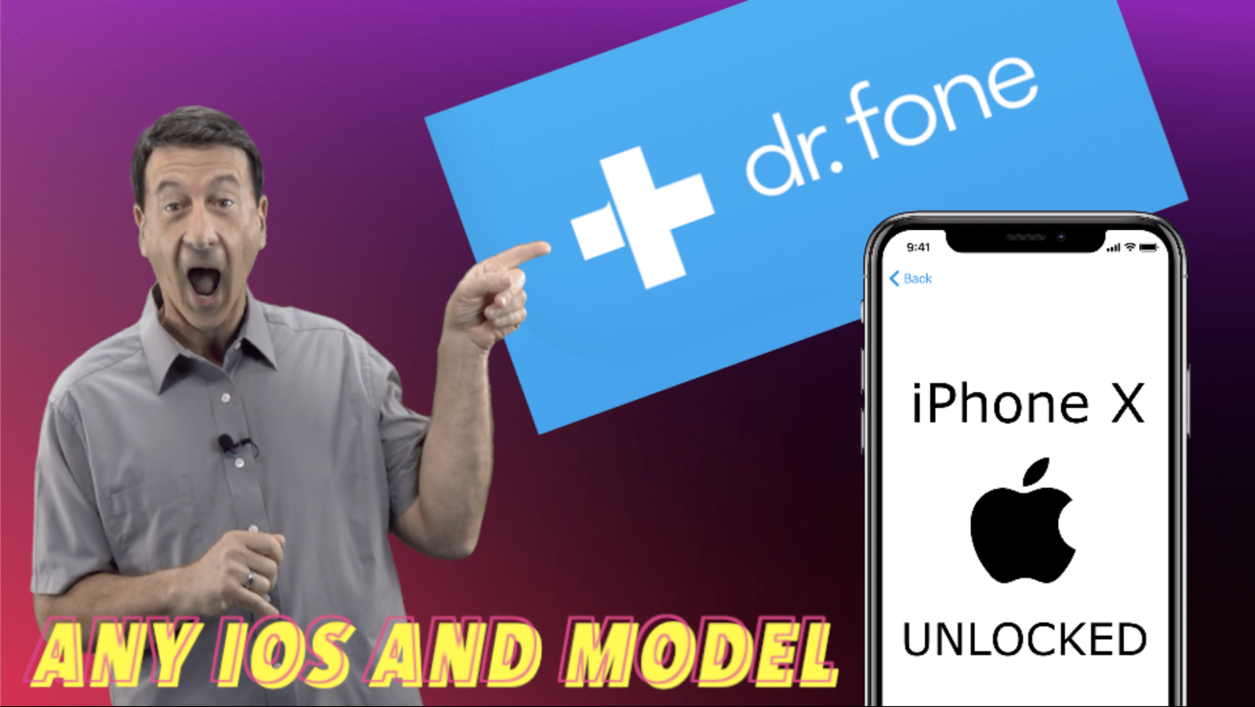 Remove iCloud with Dr. Fone Software